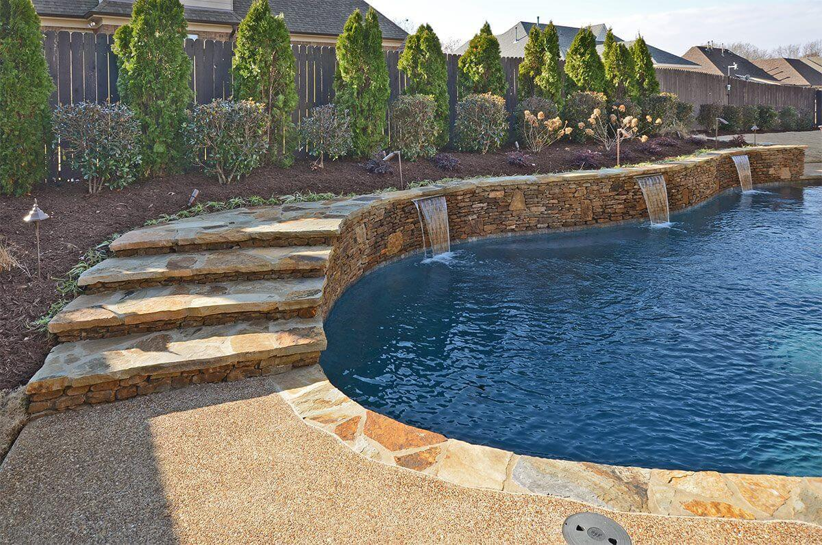 Custom Pool In Your Backyard