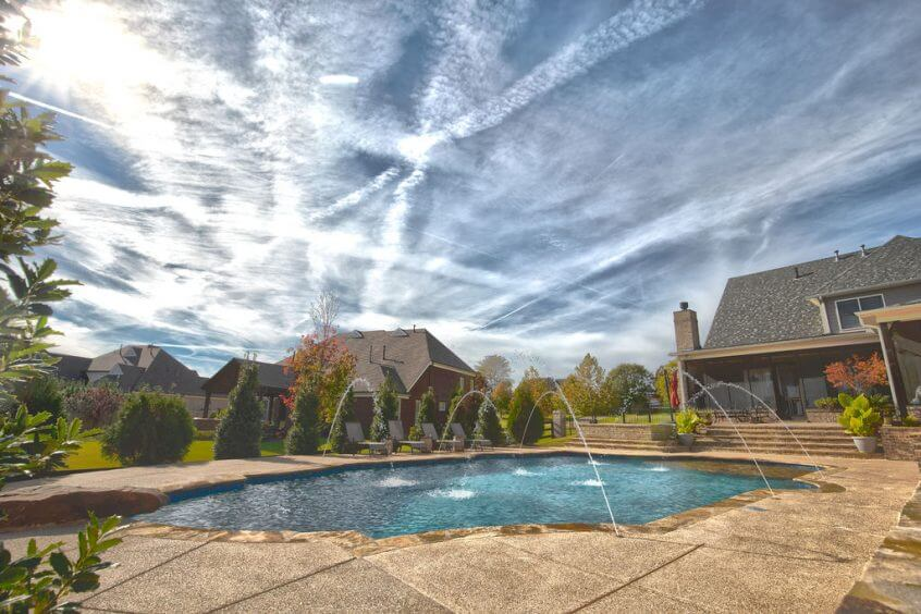 Landscaping projects covenant landscape services - Swimming pool companies in memphis tn ...